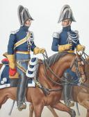 Photo 2 : 1830. Gendarmerie Royale des Départements. Gendarme Sous-Lieutenant.