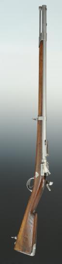 Photo 8 : CARABINE DE CHASSEURS À TABATIÈRE, modèle 1867, Second Empire.