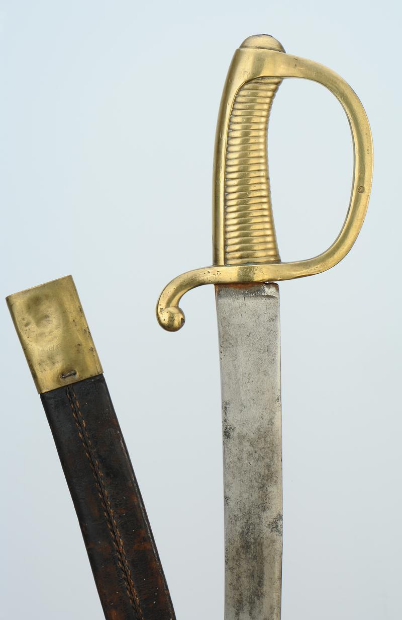 Sabre d 39 infanterie dit sabre briquet mod le an xi 1804 1805 - Dessin de sabre ...