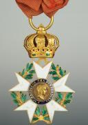 CROIX DE OFFICIER DE LA LÉGION D'HONNEUR, troisième type 1806-1808, PREMIER EMPIRE. (1)