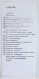 """Photo 2 : """" Le Champ de Bataille de Waterloo Pas à Pas """" - Guide de visite"""
