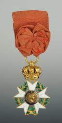 CROIX DE OFFICIER DE LA LÉGION D'HONNEUR, troisième type 1806-1808, PREMIER EMPIRE. (2)