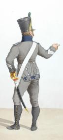 Photo 2 : 1817. Bataillons Coloniaux. Fusilier (1er Bataillon), Caporal (3e Bataillon)
