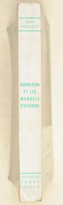 Photo 2 : DEBURAT (Renée) – Napoléon. et les manuels d'histoire