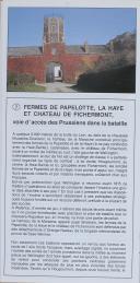 """Photo 4 : """" Le Champ de Bataille de Waterloo Pas à Pas """" - Guide de visite"""