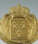 Photo 4 : PLAQUE DE GIBERNE TROUPE DE LA GARDE ROYALE, MODÈLE 1816