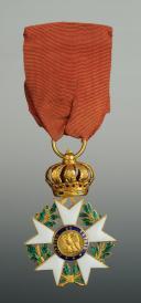 CROIX DE OFFICIER DE LA LÉGION D'HONNEUR, troisième type 1806-1808, PREMIER EMPIRE. (6)