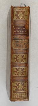 Photo 1 : Almanach royal - 1785