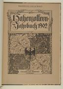 LEHMANN - HOHENZOLLERN Jahrsbuch 1902. Die Brandenburgischen-preussische Fahnen und Standarten zu St. Petersburg.  (1)