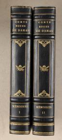 Photo 2 : DAMAS. (Comte de). Mémoires du Comte de Damas. (1785-1862). Paris, Plon, 1922, 2 vol.