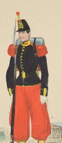 Photo 2 : LETTRE ILLUSTRÉE D'UN GRENADIER, Second Empire.