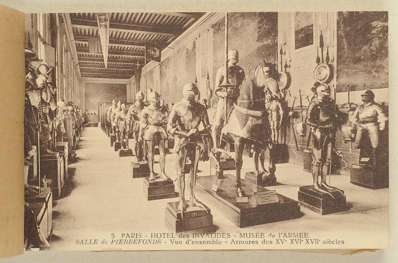 17 Cartes Postales Paris Mus E De L 39 Arm E H Tel National
