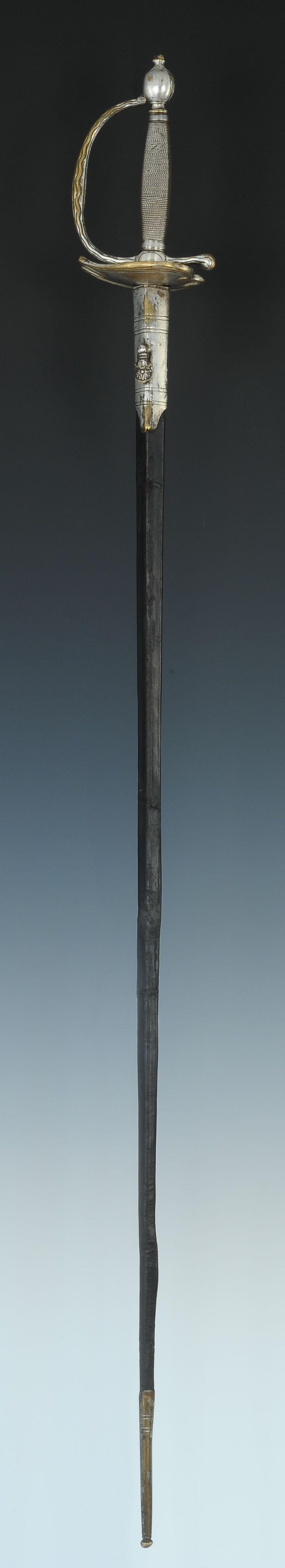 u00c9p u00c9e de garde du corps du roi  mod u00c8le 1814  restauration
