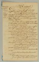 4ème RÉGIMENT DE GARDES D'HONNEUR : RAPPORT DE LA REVUE DU 7 OCTOBRE 1813, PREMIER EMPIRE.