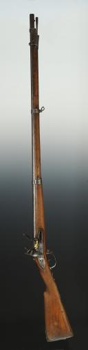 Photo 1 : FUSIL À SILEX D'INFANTERIE, MODÈLE 1777 CORRIGÉ AN XI, RESTAURATION.