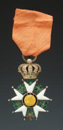 CROIX DE CHEVALIER DE LA LÉGION D'HONNEUR, 1830-1848, Monarchie de Juillet.