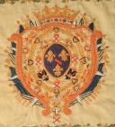 Photo 2 : ÉTENDARD DU RÉGIMENT DE CONDÉ DRAGONS (8ème RÉGIMENT EN 1814 ET 13ème RÉGIMENT EN 1815), RESTAURATION.