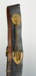 GIBERNE D'OFFICIER DE CAVALERIE, MODÈLE 1830, MONARCHIE DE JUILLET. (2)