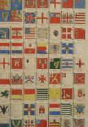 Photo 2 : DRAPEAUX DES BÂTIMENTS DE GUERRE NAVALS DES DIFFÉRENTES NATIONS 1789 : GRAVURE COULEURS, RÉVOLUTION.