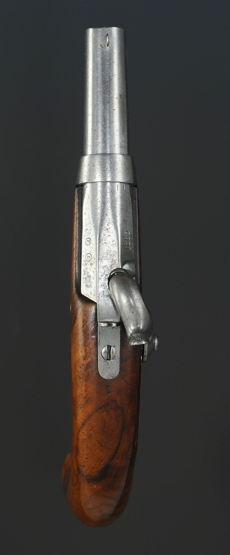 pistolet d u0026 39 officier de gendarmerie  mod u00c8le 1836  second