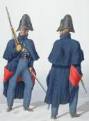 1830. Gendarmerie Royale des Départements. Brigadier, Gendarme à Cheval. (2)
