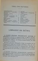 """Photo 3 : CHALLAMEL - """" Catalogue des ouvrages sur la marine """" - Paris - Mai 1952"""