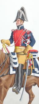 1830. Gendarmerie Royale des Départements. Trompette. (2)