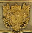 COFFRET DE GIBERNE DE GRAND UNIFORME D'OFFICIER DES CHASSEURS À CHEVAL DE LA GARDE, 1824, RESTAURATION. (2)