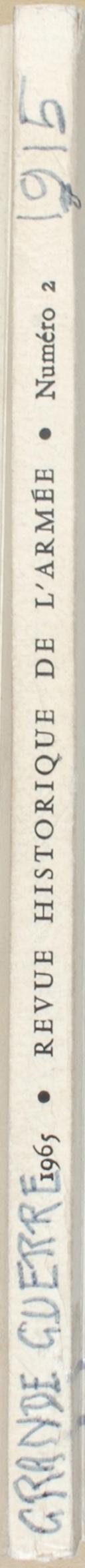 """LYET - """" Revue historique de l'armée 1965 """" - Périodique - 21ème année  (4)"""