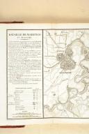 MARENGO BERTHIER. Relation de la bataille de Marengo, gagnée le 25 prairial an 8 par Napoléon Bonaparte, Premier Consul. (7)