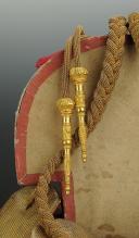 Paire d'épaulettes de Colonel et ses aiguillettes, Restauration (vers 1815-1830).  (2)