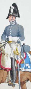 Photo 2 : 1817. Maréchal des Logis, Vétérinaire de Carabiniers.