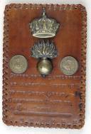 ENSEMBLE DE SOUVENIRS RAMASSÉS EN AOÛT 1815 APRÈS DE LA BATAILLE DE WATERLOO, PREMIER EMPIRE (1)