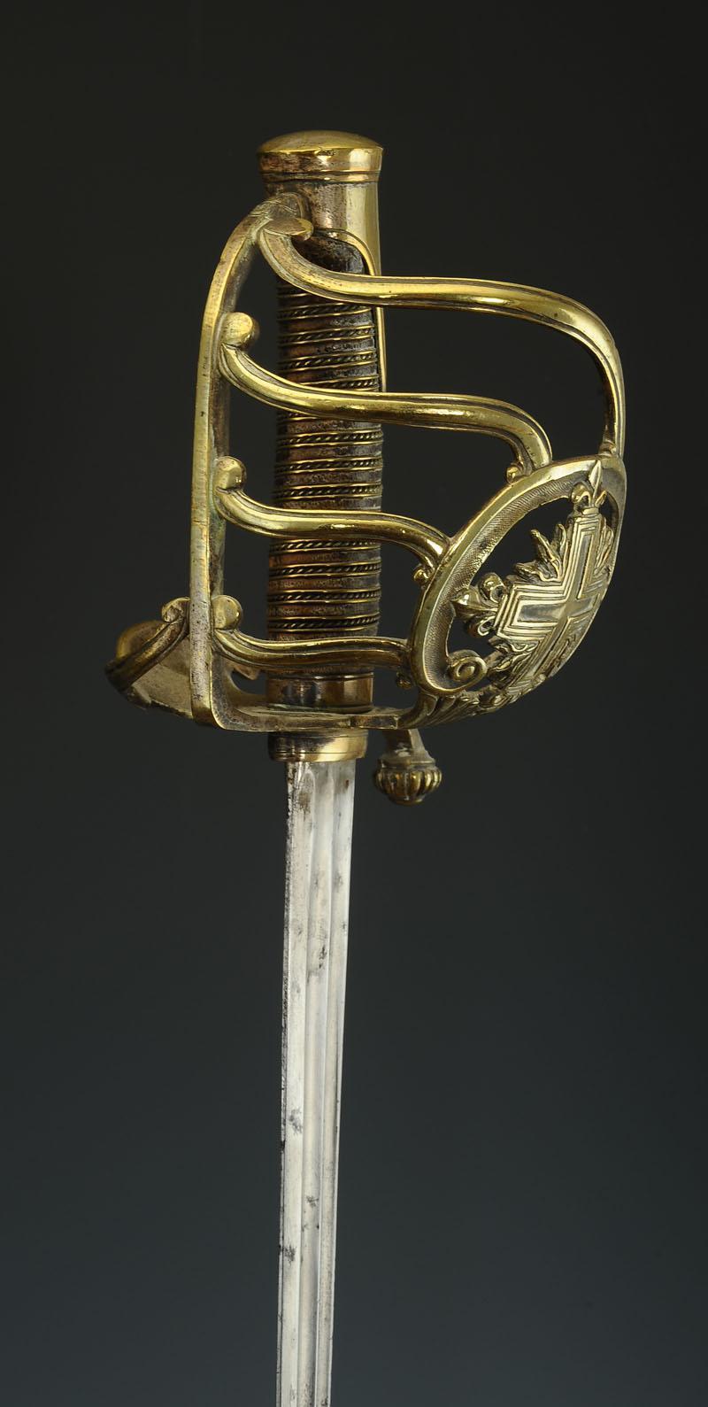 reproduction d u0026 39 un sabre de mousquetaire de la 1 u00e8re compagnie de la maison militaire du roi