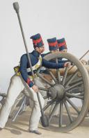 1830. Garde Royale. Régiment d'Artillerie.Batterie à Cheval. (2)