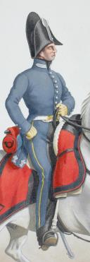 Photo 2 : 1830 Vétérinaire en Second de Chasseurs (7e Régiment).