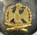 Photo 3 : HAUSSE-COL D'OFFICIER D'ARTILLERIE DE LA GARDE IMPÉRIALE PREMIER EMPIRE