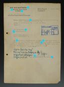 LETTRE AVEC AUTOGRAPHE DE GOTTLOB BERGER RESPONSABLE DES BUREAUX DE RECRUTEMENT DE LA WAFFEN-SS, Seconde Guerre Mondiale.