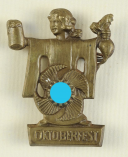 INSIGNE DE L'ORGANISATION LA FORCE PAR LA JOIE POUR LA FÊTE DE LA BIÈRE À MUNICH, Kraft durch Freude, Seconde Guerre Mondiale.