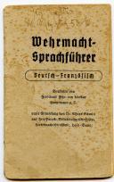 PETIT LIVRET DE CONVERSATIONS POUR SOLDATS DE LA WEHRMACHT, Seconde Guerre Mondiale.