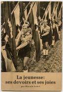 LIVRET DE PROPAGANDE DES JEUNESSES HITLÉRIENNES, Seconde Guerre Mondiale.