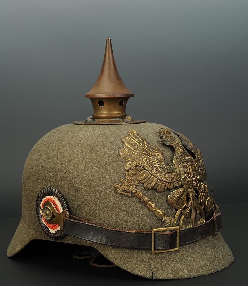 casque ersatz troupe d 39 infanterie prusse mod le 1914 1915. Black Bedroom Furniture Sets. Home Design Ideas