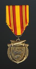 MÉDAILLE COMMÉMORATIVE DE LA BATAILLE DE DUNKERQUE DE 1940, crée le 29 septembre 1948, Quatrième République.