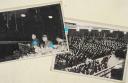 PHOTOS DE PRESSE D'UN RASSEMBLEMENT DE FONCTIONNAIRES, Seconde Guerre Mondiale.