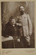 PHOTOGRAPHIE D'UN OFFICIER DE L'ÉTAT-MAJOR, Première Guerre Mondiale.