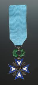 CROIX DE CHEVALIER DE L'ORDRE DE L'ÉTOILE NOIRE, crée en 1889, Troisième République.