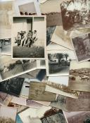ENSEMBLE DE 85 PHOTOGRAPHIES DES TROUPES D'AFRIQUE ET DE PAYSAGES D'AFRIQUE DU NORD, Troisième République.