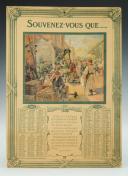 CALENDRIER DE L'ANNÉE 1919, Troisième République.