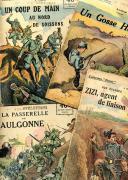 9 PETITES NOUVELLES PATRIOTIQUES DE LA COLLECTION « PATRIE », Première Guerre Mondiale.