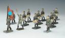 ENSEMBLE DE 12 SOLDATS ALLEMANDS, Seconde Guerre Mondiale.